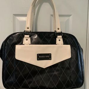 Mary Kay Deluxe Black Consultant Cosmetic Bag